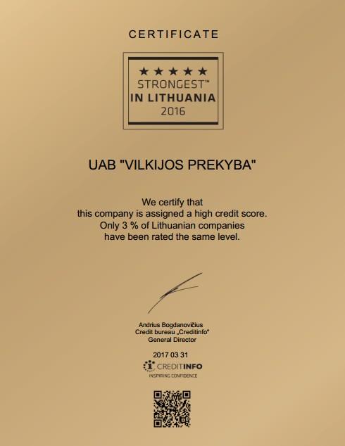 Geriausi Lietuvoje