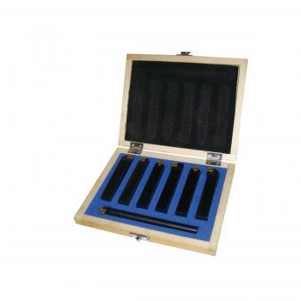 7TLG12HQ tekinimo peilių komplektas 7 vnt. 12 mm.