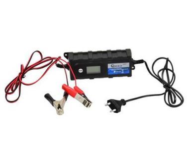 Įkrovėjas elektroninis 6/12V 1,2-120Ah 4,0A LCD