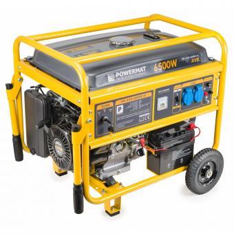Elektros generatorius PM-AGR-6500KE-EL