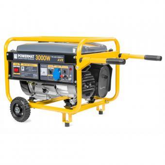 PM-AGR-3000KE-K benzininis generatorius su ratais