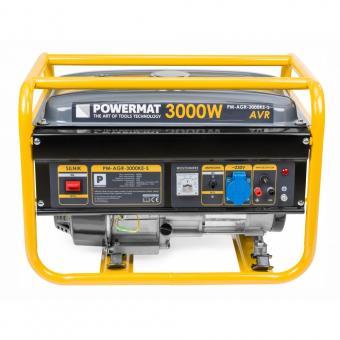 PM-AGR-3000KE-S benzininis generatorius