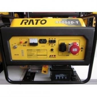 Generatorius R6000D-T, 4,8kW, 230/400V