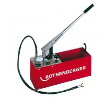 Rankinė pompa vamzdyno testavimui RP 50-S, 0-60 bar