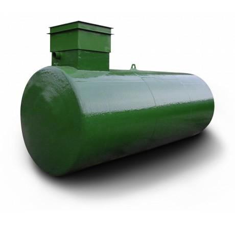 Požeminė 7000L naftos produktų talpykla, Cemo