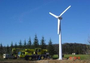 Vėjo generatorius 20 KW
