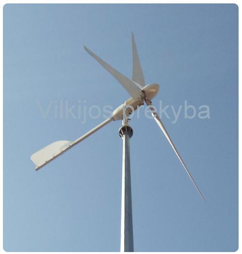 2 KW vėjo generatorius