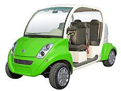 4 vietų elektromobilis