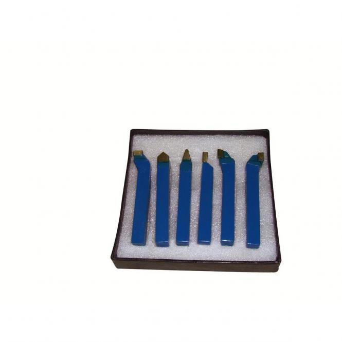 6TLG12 tekinimo peilių komplektas 6 vnt 12 mm