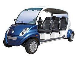 6 vietų elektromobilis