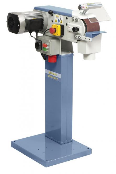 BS 100 x 1220 S-2 Juostinės metalo šlifavimo staklės