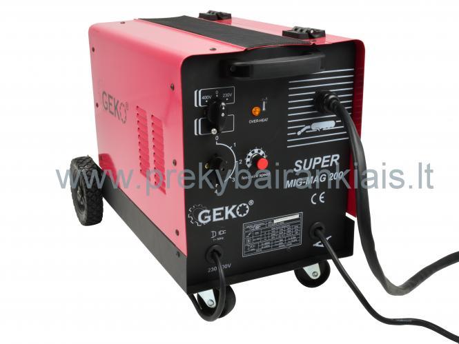 Suvirinimo pusautomatis GEMAG 200 SUPER 230/400V