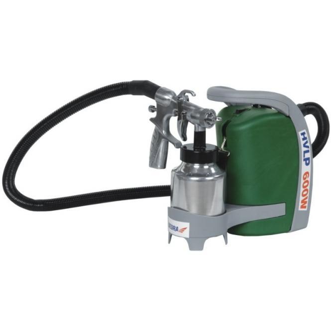 HVLP (žemo slėgio) dažų purškimo agregatas 600W