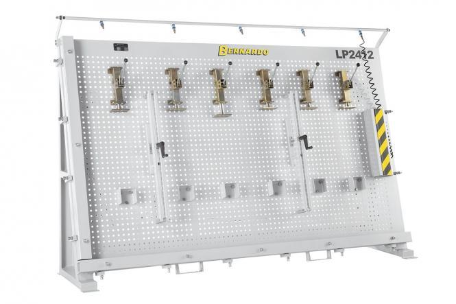 LP 2412 Medienos klijavimo - surinkimo rėmas