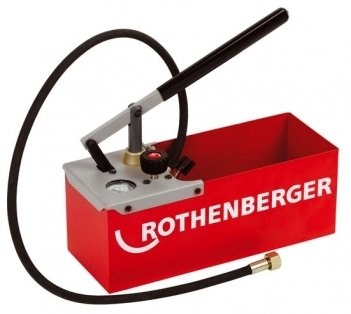 Pompa vamzdyno testavimui rankinė TP 25, 0-25 bar