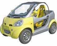 Elektrinis atviras automobilis